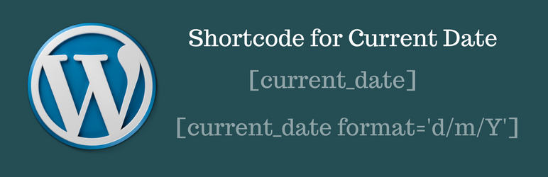 Shortcode for Current Date