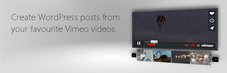 Read more about the article Vimeotheque – WordPress Vimeo videos | CodeFlavors