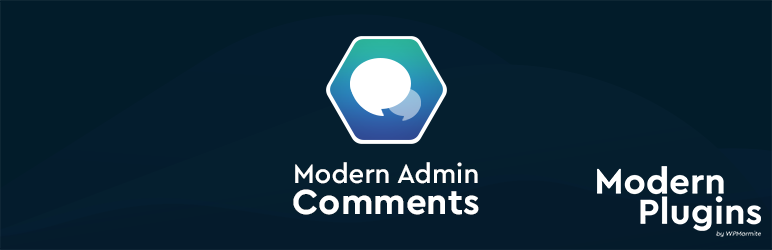 Modern Admin Comments by WPMarmite