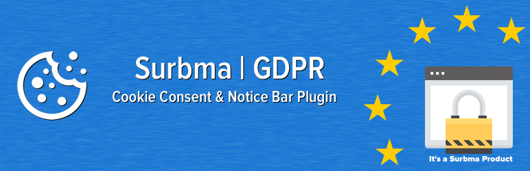 Surbma | GDPR Proof Cookie Consent & Notice Bar