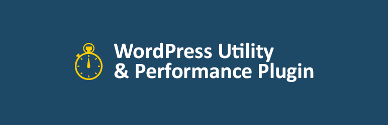 WP Utility and Performance