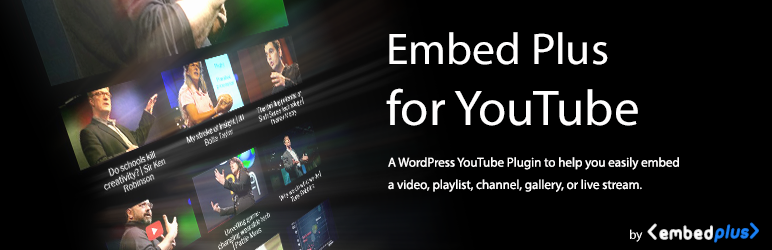 Embed Plus for YouTube – Gallery