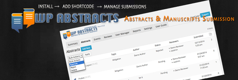 WP Abstracts