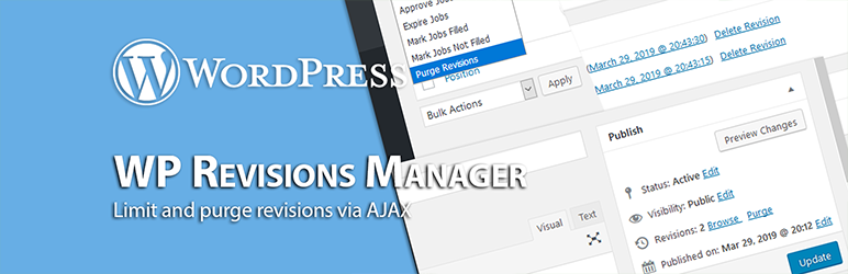 WP Revisions Manager