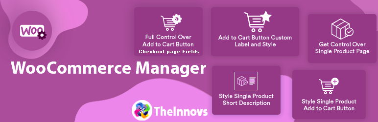 WooCommerce Manager – Customize and Control Cart page