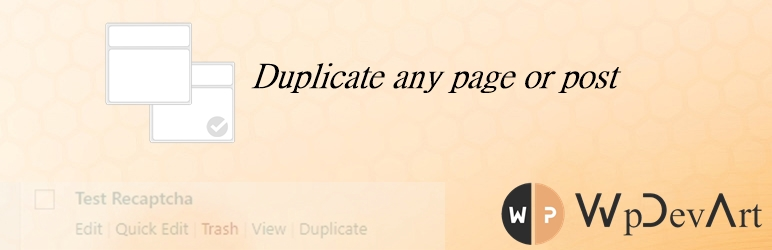 Duplicate Page or Post