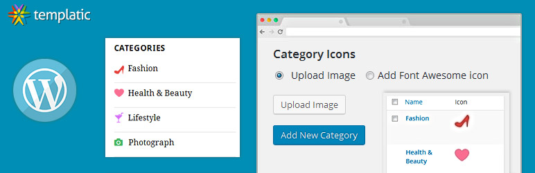 Easy Category Icons