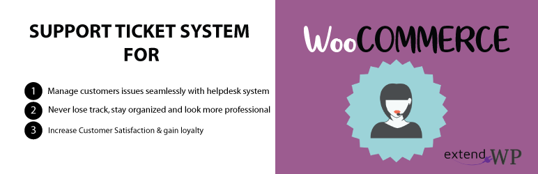 Helpdesk Support Ticket System for WooCommerce