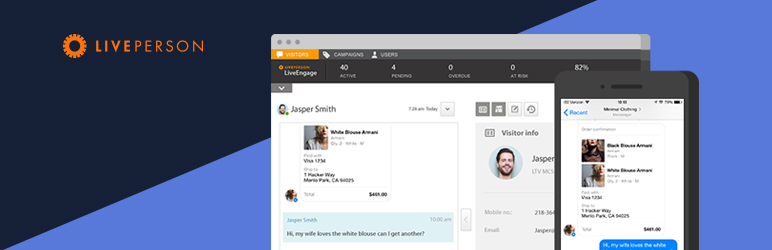 LivePerson LiveChat + Messaging