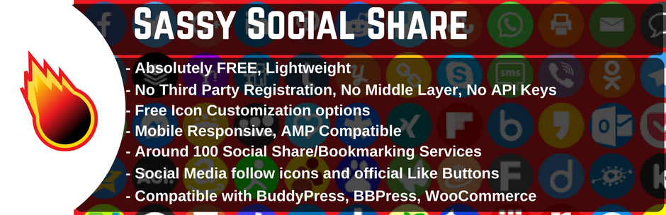 Read more about the article WordPress Social Sharing Plugin – Sassy Social Share | Team Heateor