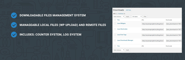 Read more about the article Lana Downloads Manager | Lana Codes | download,download counter,download manager,file manager