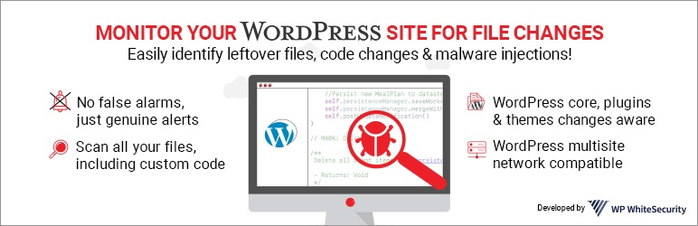 Read more about the article Website File Changes Monitor | WP White Security | file checker,file scanner,file security