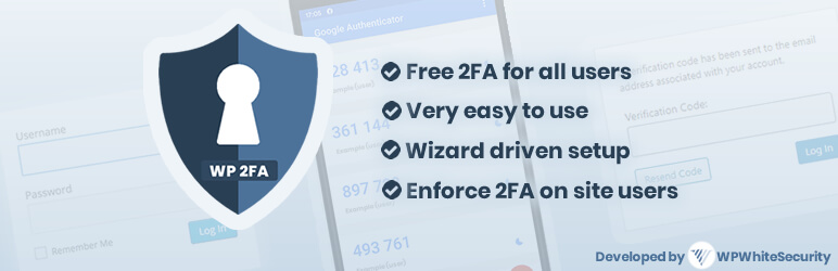WP 2FA – Two-factor Authentication for WordPress