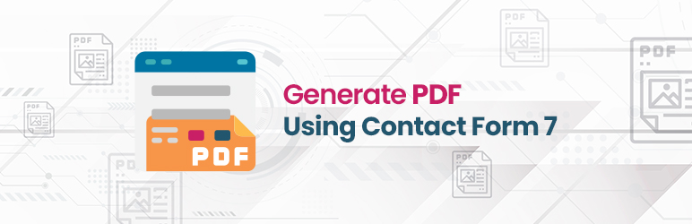 Generate PDF using Contact Form 7
