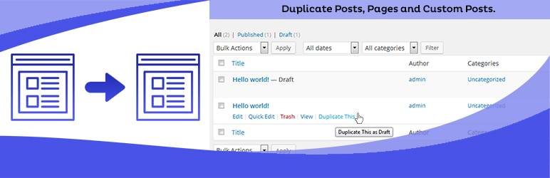 Read more about the article Duplicate Page | mndpsingh287 | duplicate custom posts,duplicate page,duplicate post,Page Duplicate,Post duplicate
