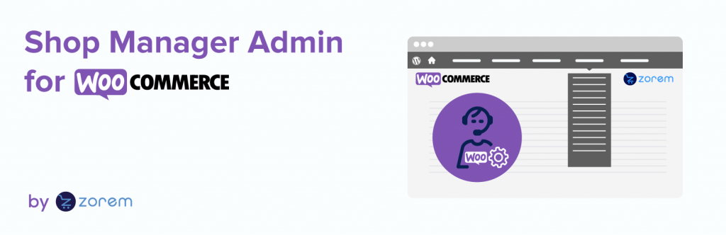 Shop Manager Admin for WooCommerce