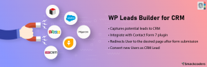 Read more about the article Lead Form Data Collection to CRM | Smackcoders | contact form 7,lead capture,leads
