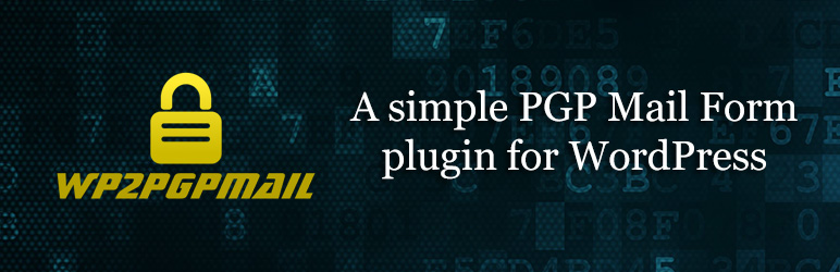 Read more about the article wp2pgpmail | wp2pgpmail | contact form,crypt,encrypt,mail,pgp