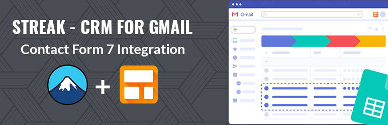Streak CRM For Gmail For Contact Form 7 – WordPress Plugin   WiserSteps   contact form 7 crm
