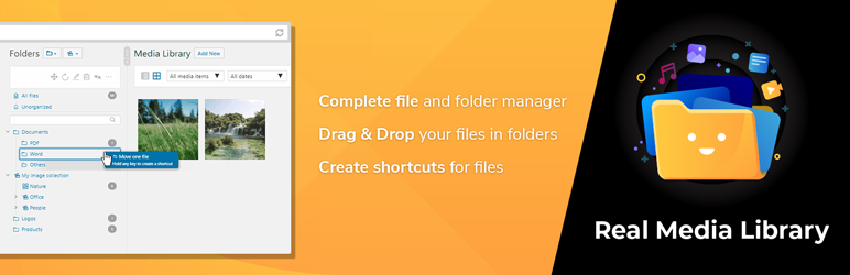 Read more about the article WordPress Real Media Library: Media Library Folder & File Manager | devowl.io
