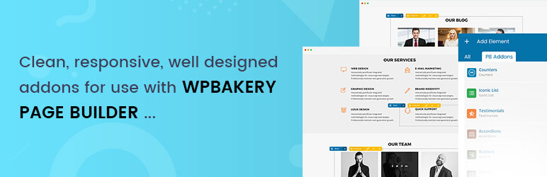 PB Addons for WPBakery Page Builder (Visual Composer)   Genetech Solutions   visual composer