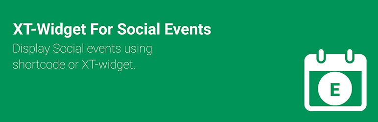 Read more about the article XT Event Widget for Social Events   Xylus Themes