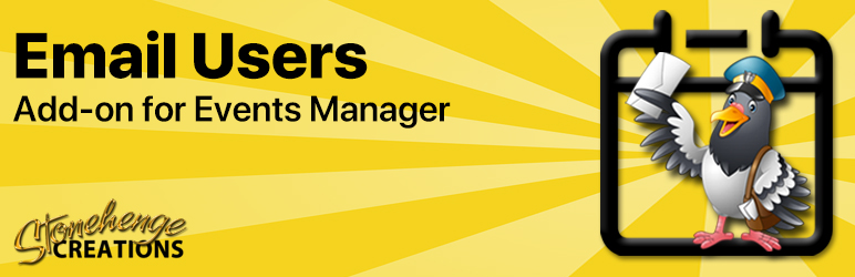 Read more about the article Events Manager – Email Users   Stonehenge Creations   booking,email,Events Manager,smtp
