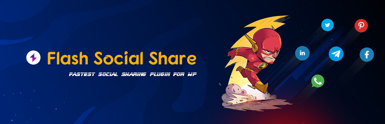 Read more about the article Flash Social Share | WPPOOL | Fastest WordPress Social Share Plugins,social media share,social media sharing plugin,social share plugin,wordpress social share plugin