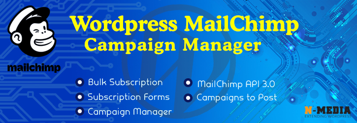 N-Media MailChimp Subscription | nmedia | email form