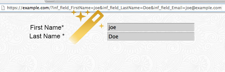 Auto-Fill Infusionsoft Forms | Jaime Lerner - the Geek Goddess | auto-fill