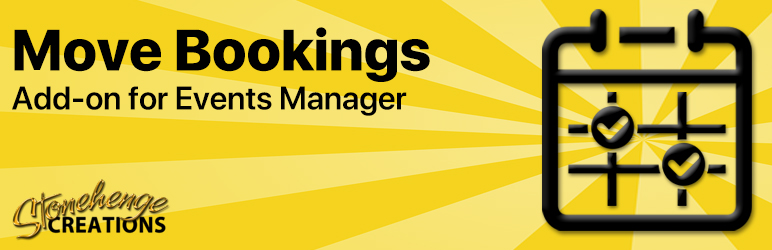 Read more about the article Events Manager – Move Bookings   Stonehenge Creations   bookings,Events Manager,move,reschedule