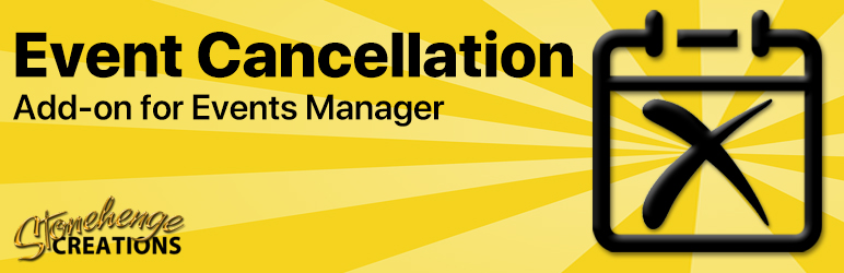 Read more about the article Events Manager – Event Cancellation   Stonehenge Creations   booking,cancel,email,Events Manager,status