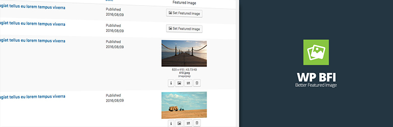 WP BFI – Better Featured Image   VERYA   featured