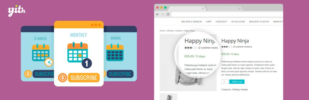 YITH WooCommerce Subscription | YITH | checkout page
