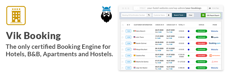 VikBooking Hotel Booking Engine & PMS