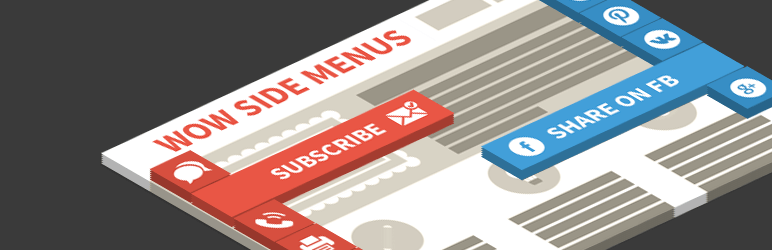 Wow Side Menu – Floating menu with fixed buttons to your website!