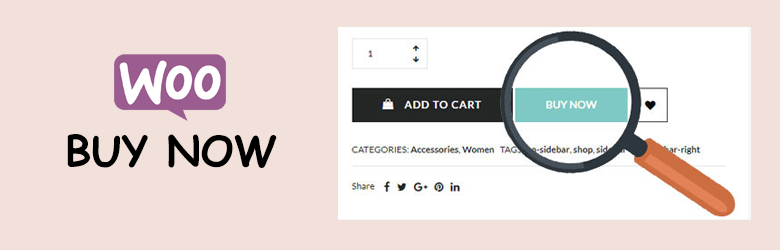 Buy Now for WooCommerce – WooCommerce Buy Now Button free addon