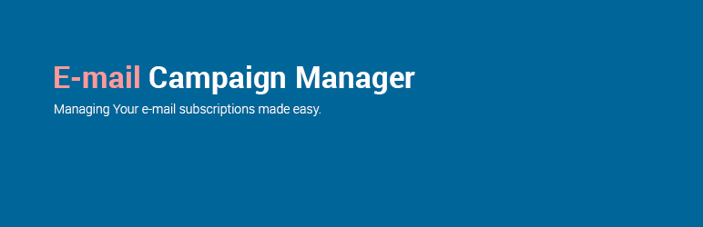 Read more about the article E-mail Campaign Manager   Roman Cieciuch   email list
