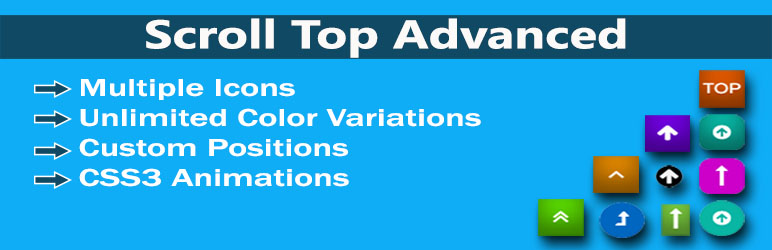 Read more about the article Scroll Top Advanced – Scroll to ID or Class   Nasir   back to up,bar,custom icon,fixed button scroller,scroll to top