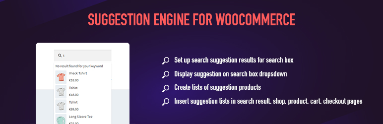Suggestion Engine for WooCommerce | VillaTheme | search engine