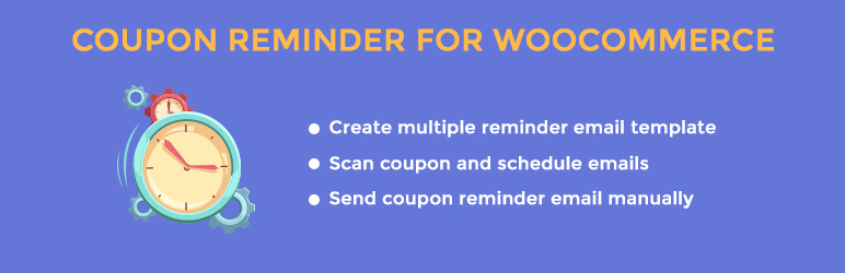 Read more about the article Coupon Reminder for WooCommerce – Create templates and schedule to coupon reminder emails – Run smoothly on WooCommerce 3.x | VillaTheme | coupon,email reminder,woocommerce