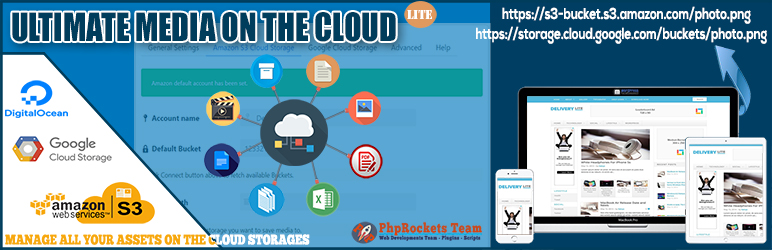 Ultimate Media On The Cloud Lite | PhpRockets Team | amazon s3