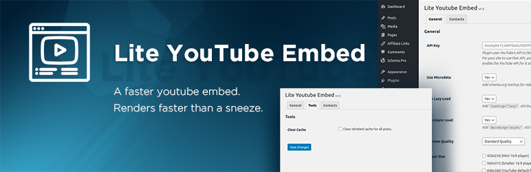 Mihdan: Lite YouTube Embed