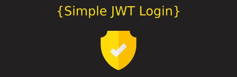 Simple JWT Login – Login and Register to WordPress using JWT