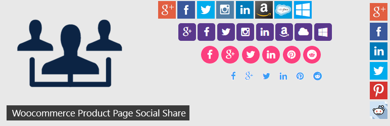 Woocommerce Product Page Social Share