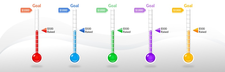 Fundraising Thermometer by CouponBirds | CouponBirds | charity