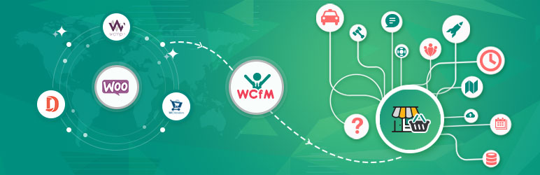 WCFM – Frontend Manager for WooCommerce along with Bookings Subscription Listings Compatible