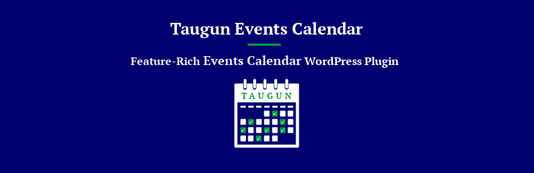 Read more about the article Taugun Events Calendar | Flintop | events,events calendar,wordpress events,wordpress events calendar