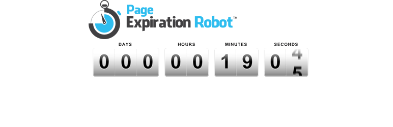 Read more about the article Page Expiration Robot – Countdown Timer | IMW Enterprises | countdown,evergreen,expire pages,expire posts,scarcity