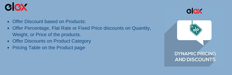 ELEX WooCommerce Dynamic Pricing and Discounts